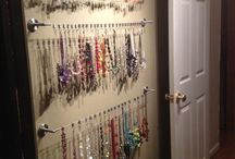 Jewelry Holders / Unique and clever ways to display and organize jewelry.