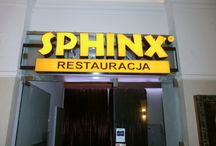 Block  light letters for SPHINX