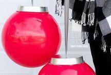 Christmas party balloon ideas