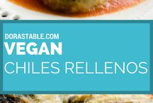 Vegetarian & Vegan Main Dishes / Not everything is vegan, but can be adapted to a vegan lifestyle.