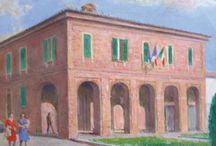Monferrato delle origini / La famiglia Sicbaldi era originaria di #Villavernia (Alessandria) ove lui tornava ogni estate presso la casa di famiglia