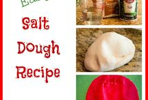 Salt dough recipes