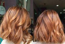 Autumn hair colour