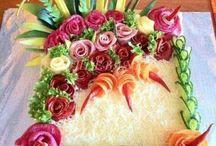 slané dorty mísy