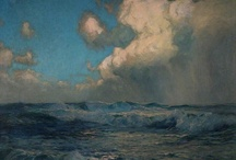 Art: Seascapes, Water Scenes / Seascape paintings. Also paintings with smaller bodies of water.