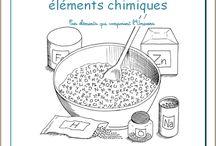 Les éléments chimiques / Cours d'Ellen McHenry sur les éléments chimiques, de l'Association Carpe Diem