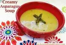 Cream of Asparagus Soup / Kitchen Wisdom Gluten Free