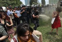 #Dayangeziparkı / Civil rights demonstration of our nation