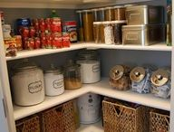 Pantry Ideas / by Jessica Miller