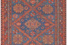 AntiqueRugs.Soumak / My favourite antique rugs. Simple, colourful, full of orange and blue colors. Every rug tells an humble story of simpleness, sustainibility and, sometime, a little dream