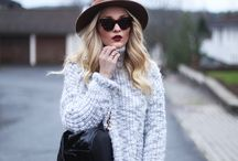 What to wear when it's cold: / Fashion trends and inspiration for fall/vinter