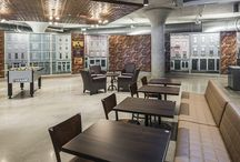 Multifunctional Workspaces / Multifunctional workspace, office, corporate, space planning, furniture