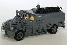 A LEGO army