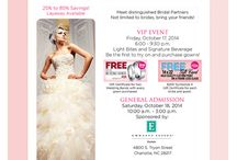 Fundraiser's and Charitie's / Come out and support Bride's Against Breast Cancer at their Wedding Event in Charlotte, NC October 17th & 18th, 2014.  P.S. I will be their :) www.camparaphotography.com