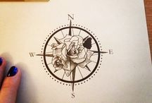 Tattoo Art Rose