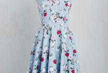 50 dresses vintage