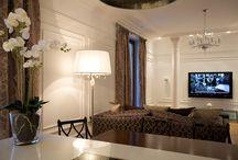 Красивые интерьеры mix / смешение классики и современного стиля, неоклассика, необычные решения