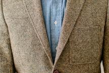 tweed blazer men's