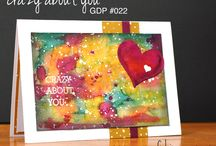 Crazy About You / Projects created by Cheryll using the Crazy About You stamp set from Stampin' Up!