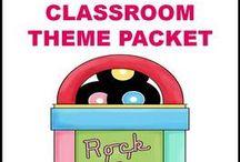 Rockstar Themed Classroom / by Tara Repp