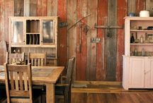 Red Barnwood Walls