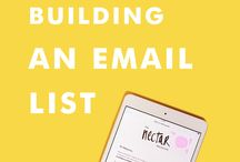 List-building for solo entrepreneurs / Blog posts, tips, and resources to help you: Grow your list. Entice your subscribers. Increase your open-rate.