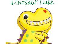 Bolo De Dinossauro