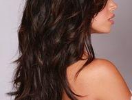 hair colors and styles / by Tara Andreas