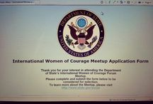 #StateMeetup for International Women of Courage Award Ceremony / The board includes articles, blogs, web site links, photos, and videos that discuss the U.S. Department of State's 2014 Meetup for the International Women of Courage Award Ceremony and the U.S. Institute of Peace's event, Resilience on the Front Line. The State Department selected me as a  social media leader to participate in the #IWOC #StateMeetup, develop and share content, and engage online communities during the Award Ceremony. / by Ananda Leeke