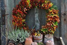Herbstkränze