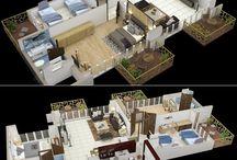penthouse apartment floor plan