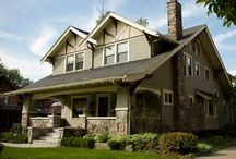 Craftsman Homes / #Color combinations that perfectly suit a #craftsman style home. / by BEHR®