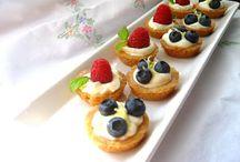 Fruit tarts / Tarts
