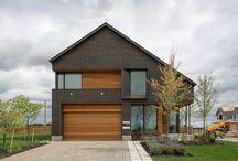 Active house / Architecture of active house concepts Aktivhus