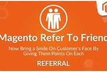 Magento2 Refer To Friend / Refer to Friend is an extension developed for Magento® 2.x.x. It allows the registered front-end users to invite their friends to the Magento Store and earn the discount coupons.
