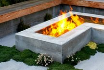 Fire Pits & Fireplaces / by June Tamaki