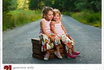 Sister poses