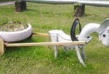 Eski Araba Lastiklerinden Neler Yapılır / Araba Lastiği Değerlendirme araba lastiğinden merdiven halısı araba lastiğinden merdiven paspası eski araba lastiklerinden bahçe saksıları araba lastiğinden yapılanlar araba tekerleğinden çiçeklik yapımı araba lastiği dönüştürme araba lastiği dekorasyon
