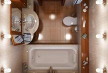 Small bathroom space