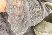 Vintage clothing - lace
