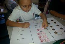 Matematik / TED İstanbul Koleji İlkokulu Matematik derslerinde kullanılan etkinlikler.