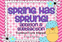 School--spring ideas / by Nicole Jones