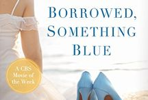 Something Borrowed, Something Blue a novel by Jill Gregory and Karen Tintori / Four gorgeous brides hiding four devastating secrets. And a stalker vowing to kill one of them before she can set one pretty foot down the aisle...