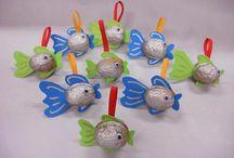 Vánoce rybky