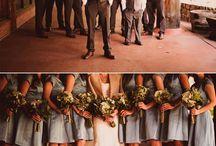 Bridal party photo shots
