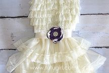 Lace Dresses   Rustic Dress for Girls