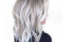 grey blonde hair