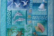 """Quilts """"bord de mer"""""""