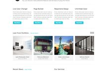 Wordpress Themes / A collection of Wordpress Themes