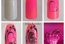 nails full of love